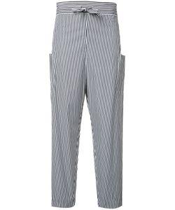 Maison Rabih Kayrouz   Striped Trousers Womens Size 38 Cotton