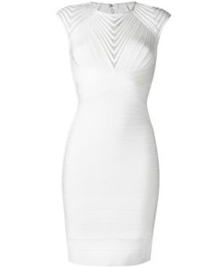 Hervé Léger | Deanna Dress Womens Size Small Rayon/Nylon/Spandex/Elastane/Polyester