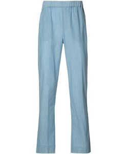 Baja East | Striped Trousers Size 2 Cotton/Linen/Flax/Rayon