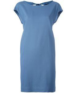 Roberto Collina | Tie-Fastening Shift Dress Womens Size Medium Spandex/Elastane/Viscose
