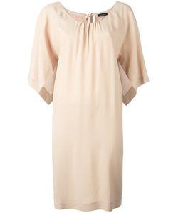 Roberto Collina | Open Sleeve Shift Dress Womens Size Small Viscose/Spandex/Elastane