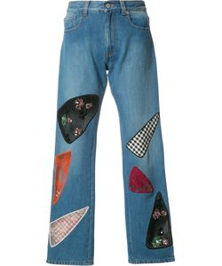Christopher Kane | Patchwork Jeans Womens Size 25 Cotton