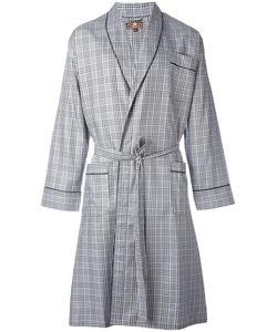 Otis Batterbee | Prince Of Wales Dressing Gown Mens Size Medium