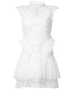 Jonathan Simkhai | Laye Pleated Dress Womens Size 2 Spandex/Elastane/Silk/Polyester/Rayon