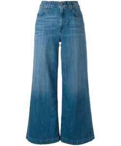 7 For All Mankind | Cropped Wide-Leg Jeans Womens Size 25