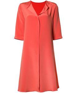 Peter Cohen | Split Neck Dress Womens Size Small Silk