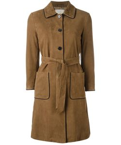 L'Autre Chose | Trench Coat With Contrast Piping Womens Size 42