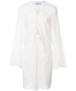 Yigal Azrouel | Embroide Eyelet Dress Womens Size 0 Cotton