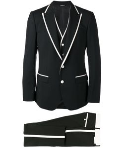 Dolce & Gabbana   Formal Suit Mens Size 48 Wool/Silk/Spandex/Elastane/Cupro