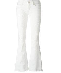 Dondup | Frill Tank Top Womens Size 29 Cotton/Spandex/Elastane