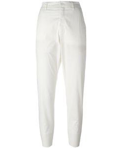 Hope   Folded Hem Cropped Trousers Womens Size 34 Cotton/Spandex/Elastane