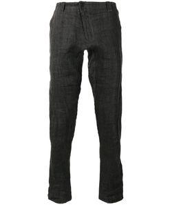 Devoa | Slim-Fit Jeans Mens Size 2 Linen/Flax/Polyester