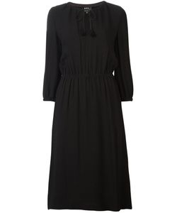 A.P.C. | Fla Dress Womens Size 34 Spandex/Elastane/Viscose