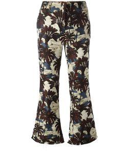 Philosophy di Lorenzo Serafini | Cropped Palm Tree Trousers Womens Size 42