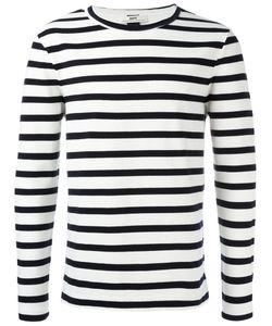 Hope   Striped Sweatshirt Mens Size Large Cotton