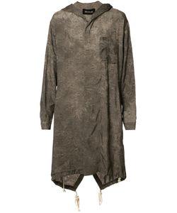 Uma Wang | Pattern Long Hoodie Mens Size Medium Cupro