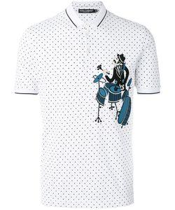 Dolce & Gabbana | Drummer Patch Polo Shirt Mens Size 44
