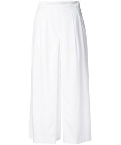Guild Prime | Fla Cropped Trousers Womens Size 34 Polyester/Polyurethane/Rayon