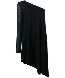 Twin-Set | Single Sleeve Knitted Blouse Womens Size Medium Cotton
