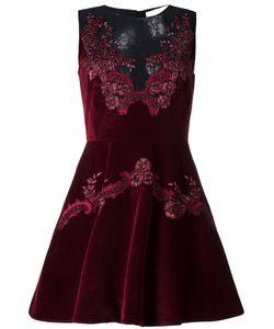 Zuhair Murad | Lace Details Dress Womens Size 40 Cotton/Viscose/Polyamide/Spandex/Elastane