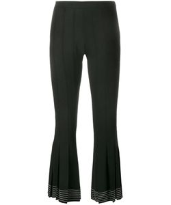 Marco de Vincenzo | Flute Cuff Trousers Womens Size 38 Wool