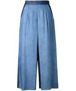 Guild Prime | Fla Cropped Trousers Womens Size 36 Tencel