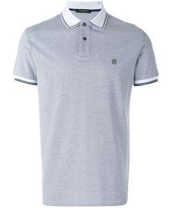 Ermenegildo Zegna | Contrast Collar Polo Shirt Mens Size 52 Cotton