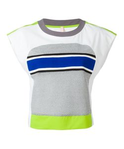 No Ka' Oi | Neon Detail Cropped T-Shirt Womens Size Small