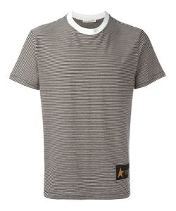 Golden Goose Deluxe Brand | Striped T-Shirt Mens Size Small Cotton