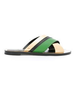 Lanvin | Mirror Sandals Womens Size 36 Calf Leather/Leather