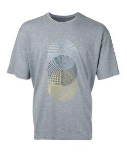 Wooyoungmi | Embroide Figure T-Shirt Mens Size 48 Nylon/Polyurethane/Viscose