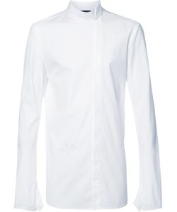 Thamanyah   Off Centre Fastening Shirt Mens Size 44 Cotton/Spandex/Elastane