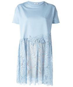 P.A.R.O.S.H. | Lace Skirt T-Shirt Dress Womens Size Medium Cotton/Polyester/Spandex/Elastane
