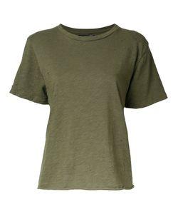 Amiri | Destroyed Effect T-Shirt Womens Size Large Cotton