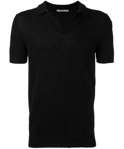 Nuur | Plain Polo Shirt Mens Size 48 Cotton/Polyamide
