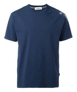 Stone Island   Logo Print T-Shirt Mens Size Xxl Cotton