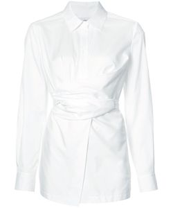 Yigal Azrouel | Belted Shirt Womens Size 10 Cotton