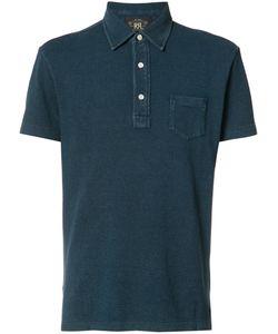 Rrl   Chest Pocket Polo Shirt Mens Size Small Cotton