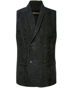 Uma Wang | Double Breasted Waistcoat Mens Size Large Cotton/Viscose