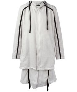 Thom Krom | Hooded Ayer Coat Mens Size Medium Cotton