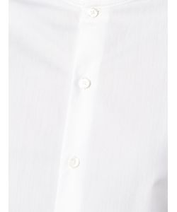 Marie Marot | Frill-Trimmed Diana Shirt Womens Size Medium Cotton