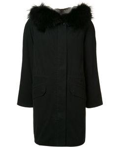 Army Yves Salomon | Midi Parka Coat Womens Size 38 Rabbit