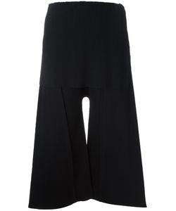 Issey Miyake Cauliflower | Ribbed Soft Culottes Womens Polyester