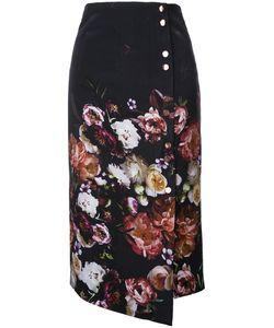 GINGER & SMART | Liaison Skirt Womens Size 6 Silk/Spandex/Elastane/Viscose