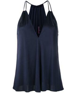 Martin Grant | Double Strap Top Womens Size 36 Silk