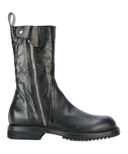 Rick Owens   Army-Inspi Boots Mens Size 45 Leather/Rubber