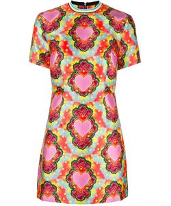 House Of Holland | Heart Twill Fla Dress Womens Size 10 Polyester