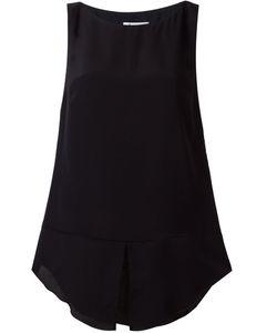 Dondup | Hisa Top Womens Size 38 Silk/Cupro/Viscose/Spandex/Elastane