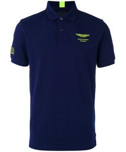 Hackett | Chest Print Polo Shirt Mens Size Xxl Cotton/Spandex/Elastane