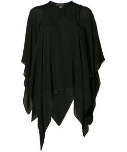 Plein Sud | Cape Blouse Womens Size 40 Silk